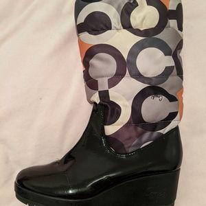 Coach Charm Boots. Size 9 1/2.